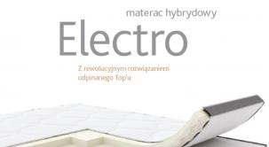 Materac hybrydowy Elektro